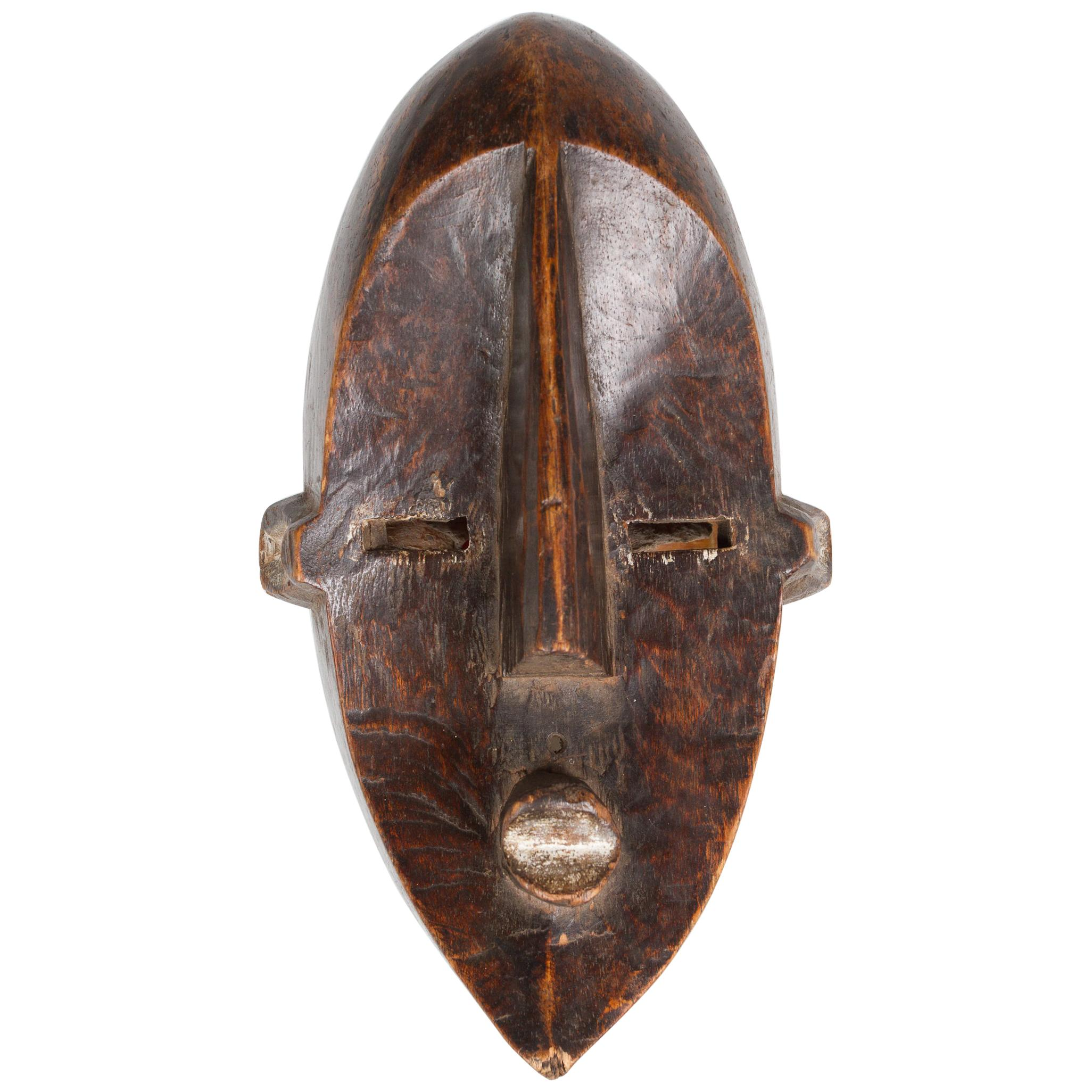 African Lwalwa Tribal Mask