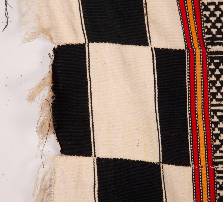 Hand-Woven African Mali Tent Hanging, First Half of the 20th Century For Sale