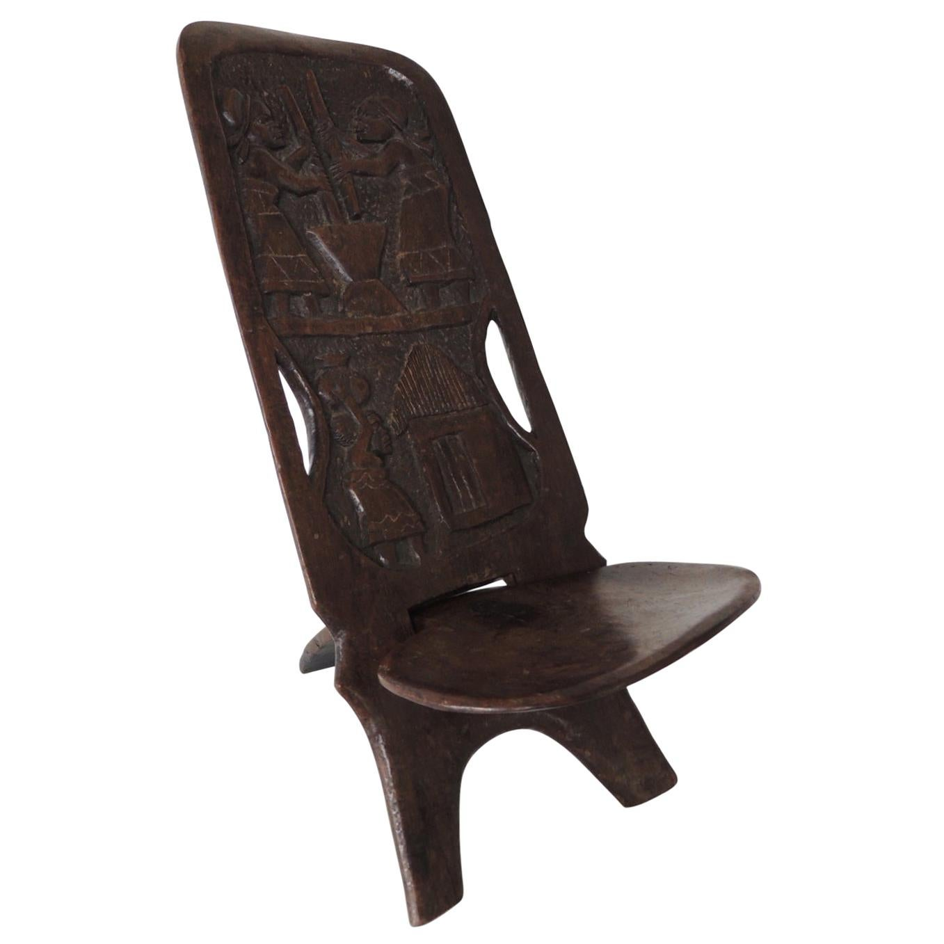 African Palaver Child's Folding Chair