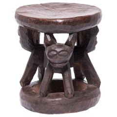 African Bamileke Animal Stool