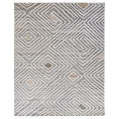 Nazmiyal Collection African Retro Rug. Size: 10 ft x 14 ft