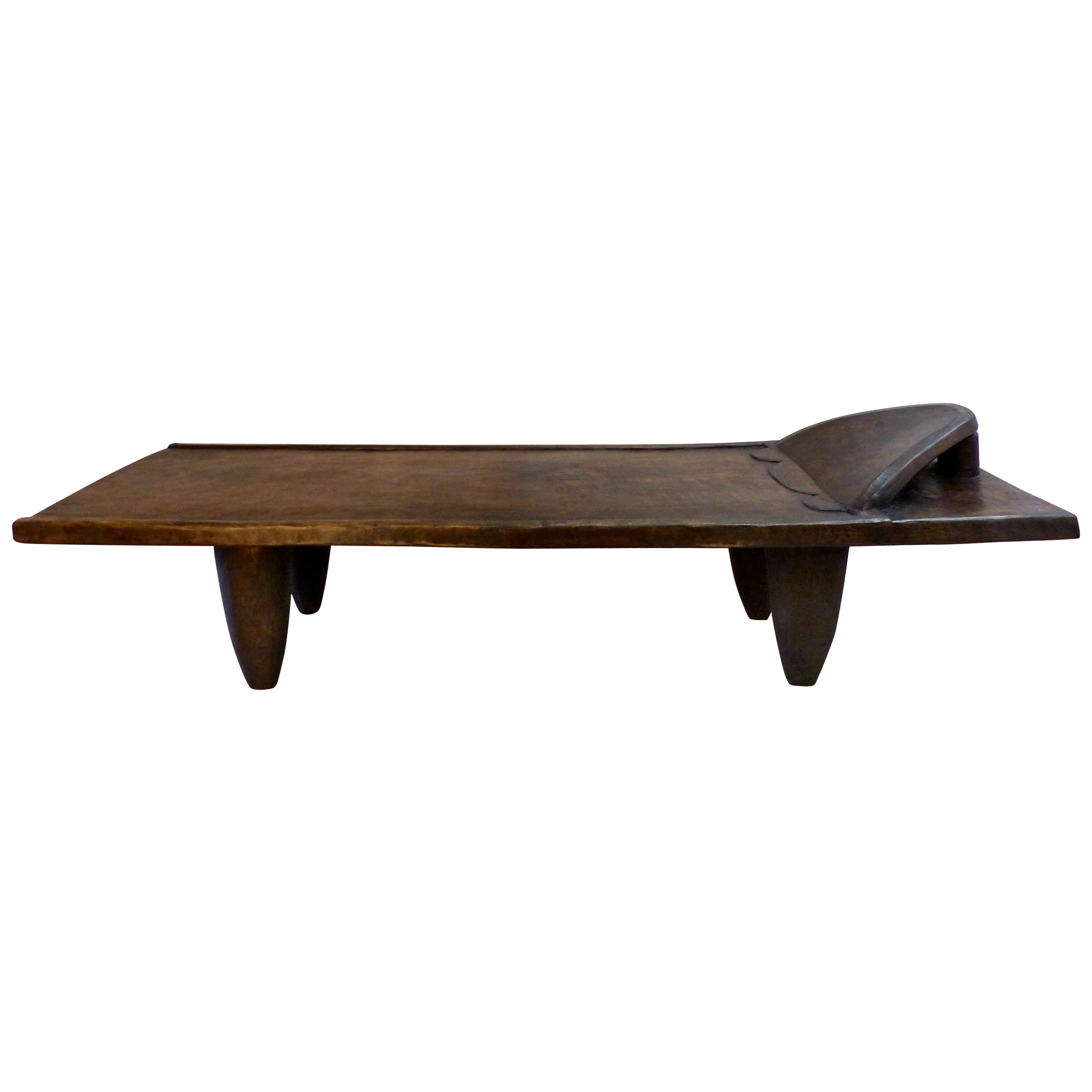 African Senufo Bed/Bench from the Coite d'Ivoire