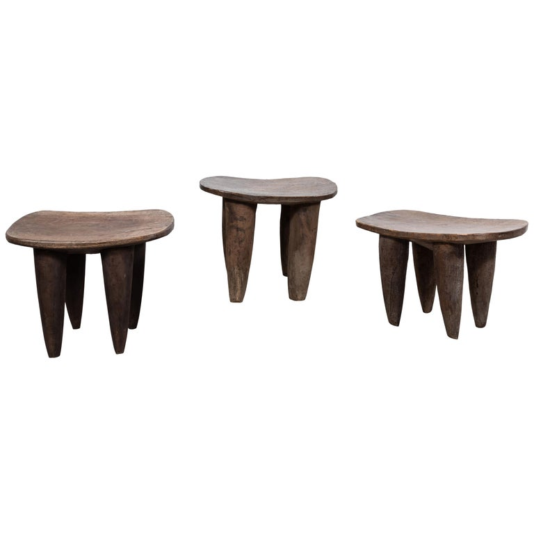 African Senufo Stool from Mali For Sale