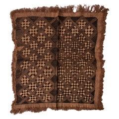African Showa Kuba Vintage Textile Panel