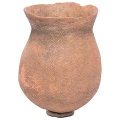 African Terracotta Storage Vessel