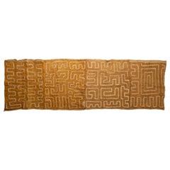 African Textile Panel Showa Kuba