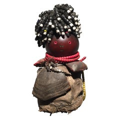 African Tribal Art Women's Magical Figure