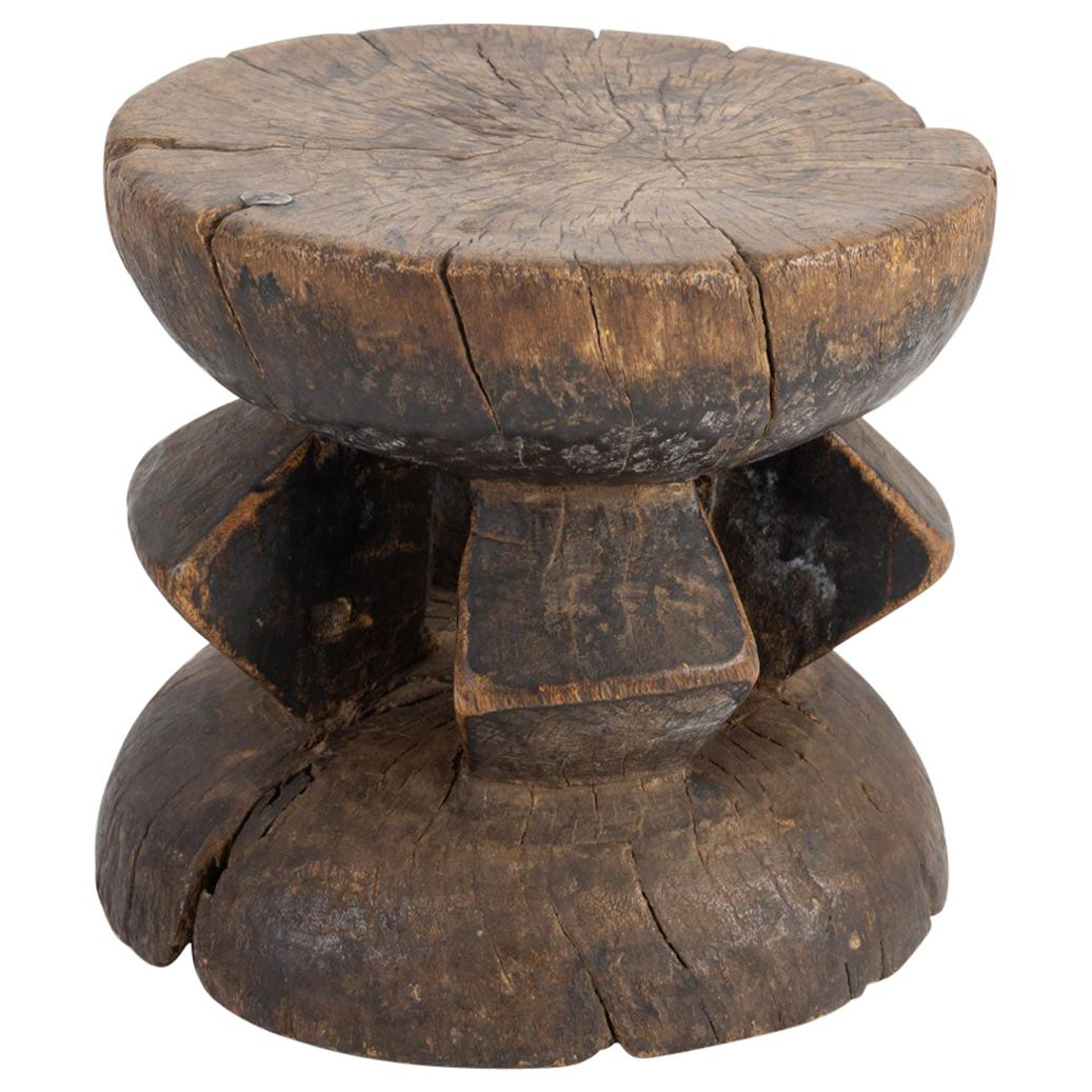African Wooden Stool