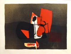 Campiello - Original Lithograph by Afro Basaldella - 1970
