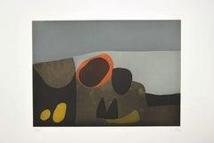 Vulcani - Original Etching by Afro Balsaldella - 1974