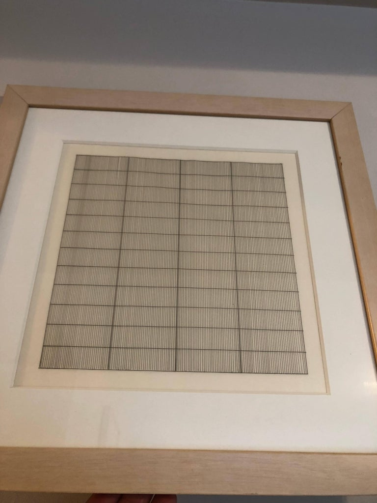 Untitled  - Abstract Print by (after) Agnes Martin