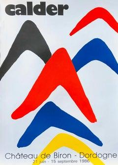 Vintage Alexander Calder exhibition poster (Calder prints)
