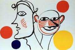 Alexander Calder Lithograph Derriere Le Miroir
