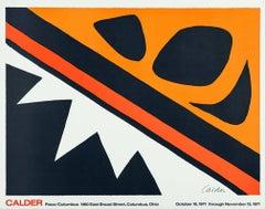 Vintage 1970s Alexander Calder poster (Calder prints)
