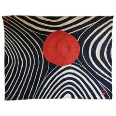 "After Alexander Calder ""Zebra"" Tapestry, 1975"