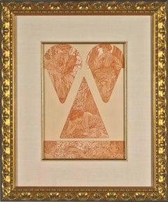 Untitled (Figures Décoratives, Plate #19)