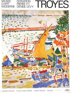 """Andre Derain-Musee D'Art Moderne Troyes-63"""" x 47.25""""-Poster-Modernism"""