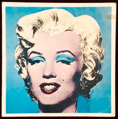 Andy Warhol Tate Gallery Catalog 1971, Marilyn and Liz Cover
