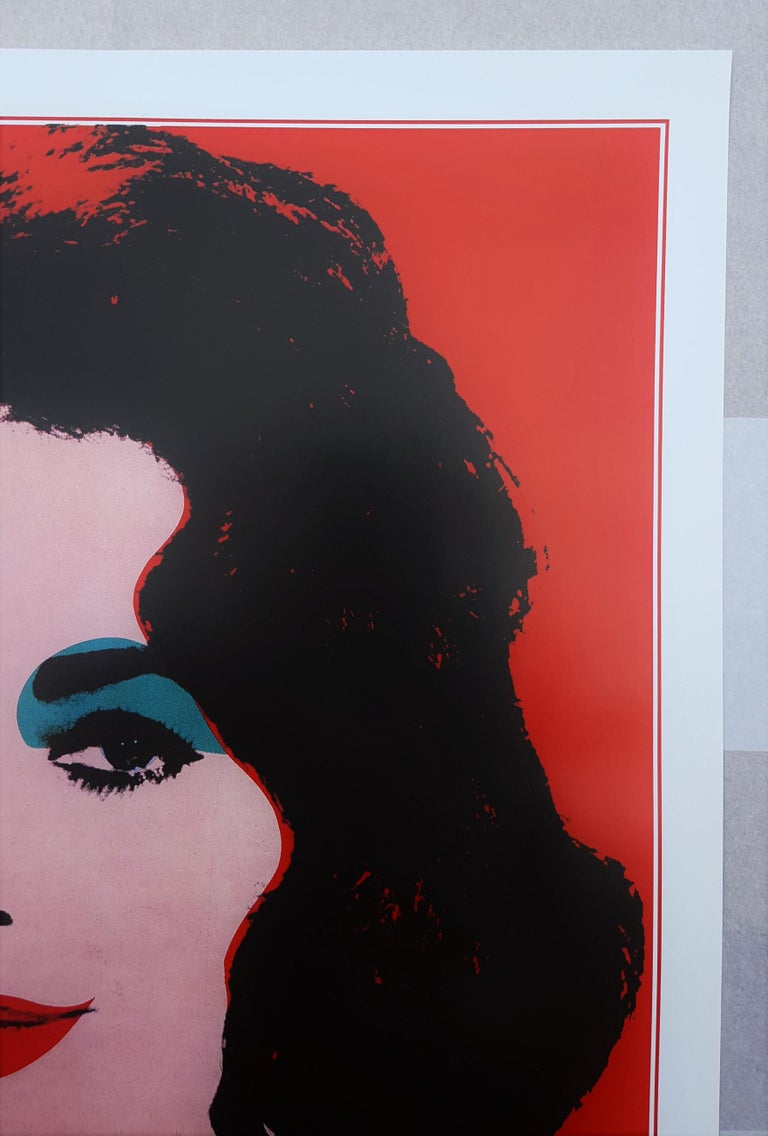 An original offset-lithograph exhibition poster on smooth wove paper after American artist Andy Warhol (1928-1987) titled