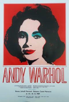 Andy Warhol at Castel Mareccio (Liz Taylor)