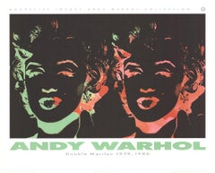 "Andy Warhol-Double Marilyn (Reversal Series)-27.5"" x 34.25""-Poster-1989-Pop Art"
