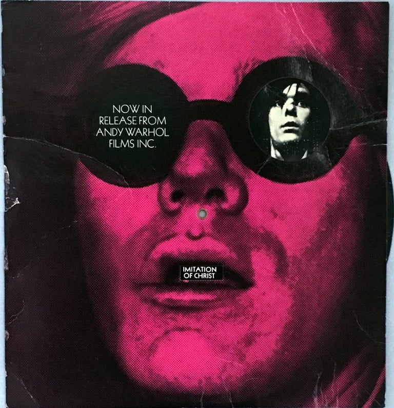 (after) Andy Warhol - Andy Warhol Films promo card (Andy ...