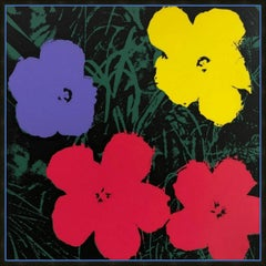 Andy Warhol Flowers 11.73 published by Sunday B. Morning