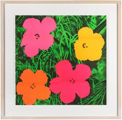 Andy Warhol Flowers, 1964 (invitation for Leo Castelli exhibition)