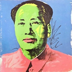 Warhol Mao Castelli invitation 1972 (Warhol at Leo Castelli)