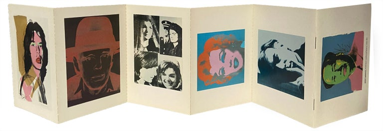 Andy Warhol Portrait screen-prints 1965-80 (announcement cards) - Print by (after) Andy Warhol