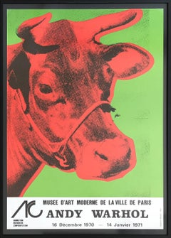 Cow (Exhibition poster for the Musee d'Art Moderne de la Ville de Paris)