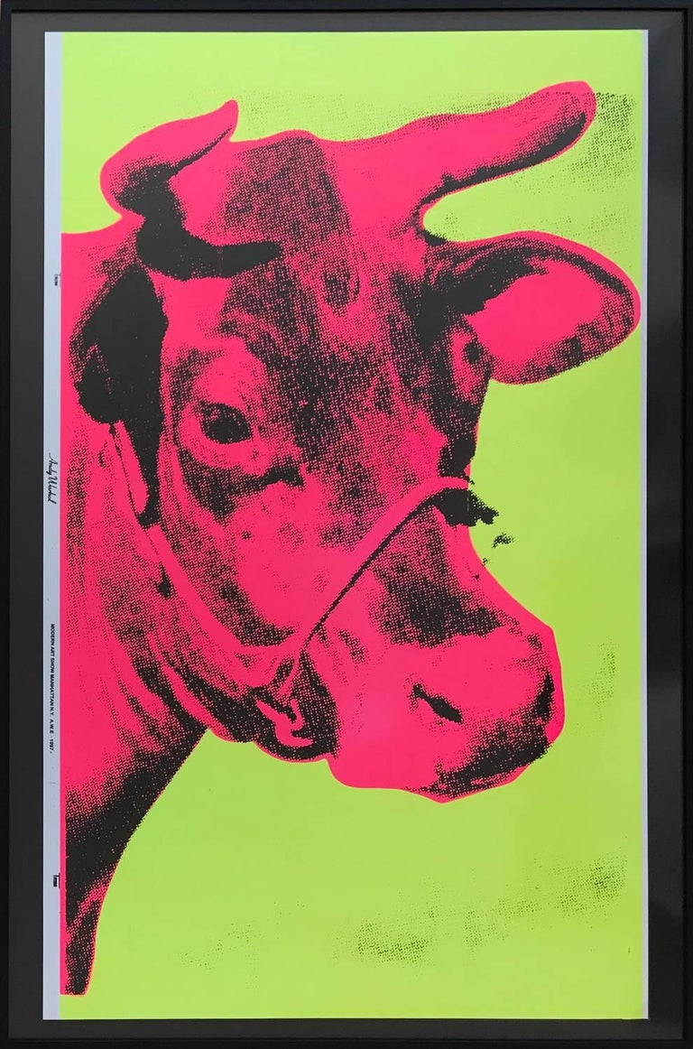 """Exhibition poster printed for """"Modern Art Show Manhattan, NY AWE 1997"""""""