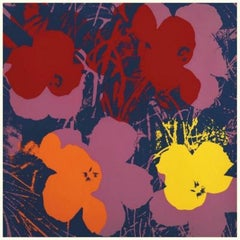 Flowers III, After Andy Warhol