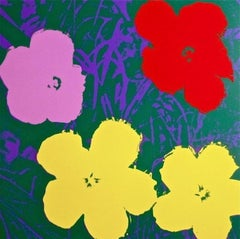 Flowers IV, After Andy Warhol