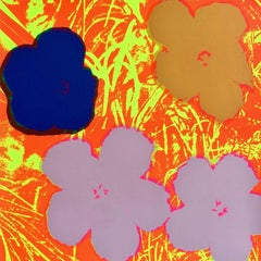 Flowers VI, After Andy Warhol