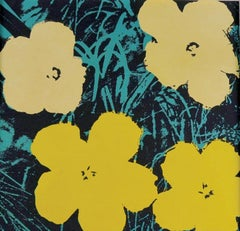 Flowers VII, After Andy Warhol