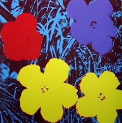 Flowers VIII, After Andy Warhol