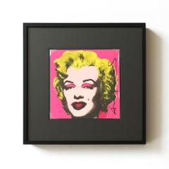 Marilyn (Castelli Gallery Invitation), Pop Art, 20th Century