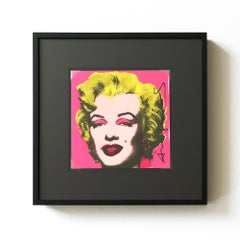 Marilyn, Castelli Graphics Invitation, Pop Art, American Artist, 20th Century