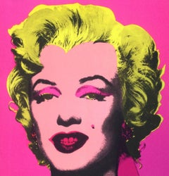 Warhol Marilyn (Castelli Invitation)