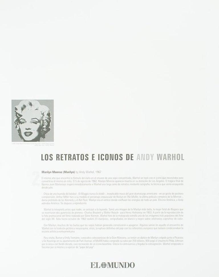 'Marilyn Monroe (Marilyn)' - Print by (after) Andy Warhol