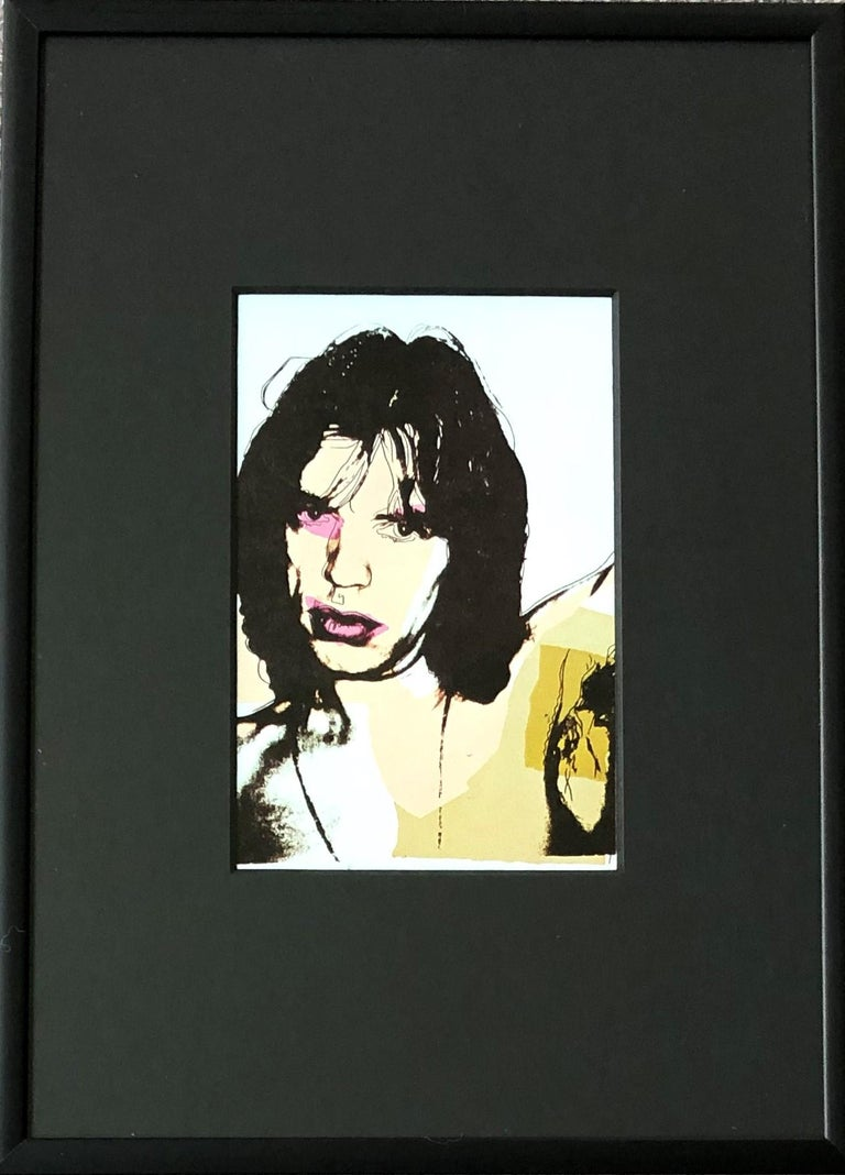 Andy Warhol, Jagger Announcement cards SET OF 10, Rolling Stones, Musician, Pop - Pop Art Print by (after) Andy Warhol
