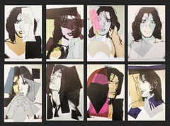 Andy Warhol, Jagger Announcement cards SET OF 10, Rolling Stones, Musician, Pop