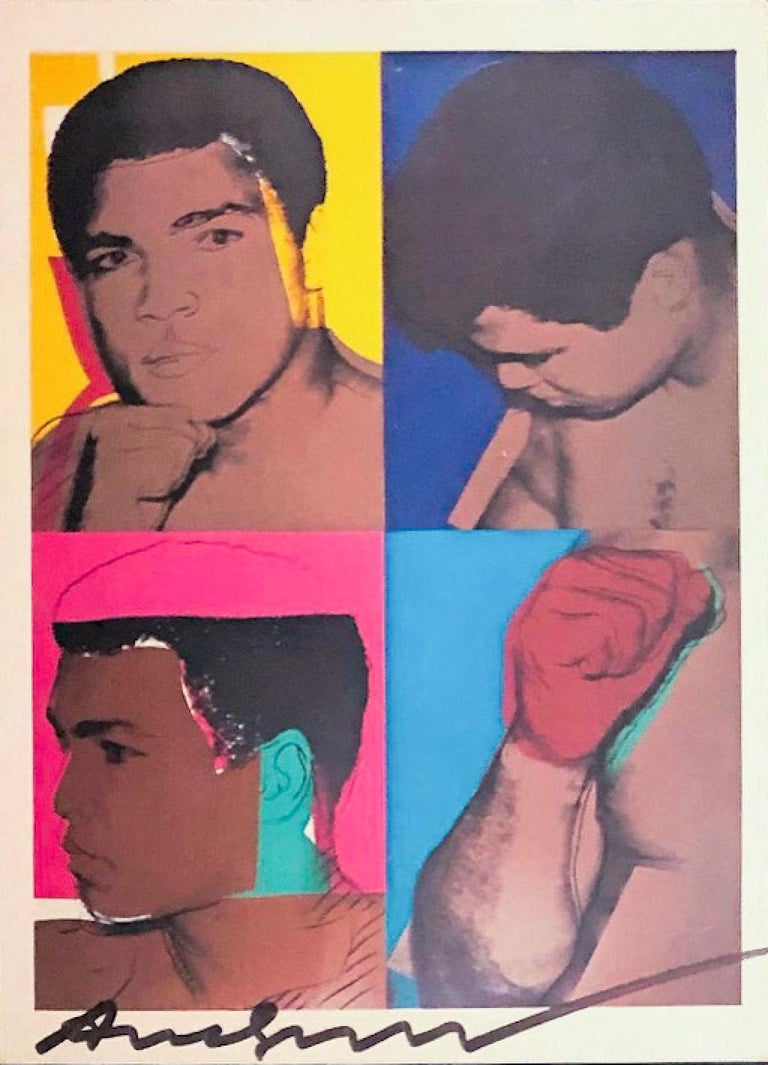 'Muhammad Ali' - Exhibition Card For Sale 4
