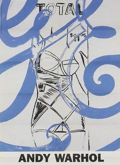 Vintage Warhol exhibition poster (Warhol GE paintings)