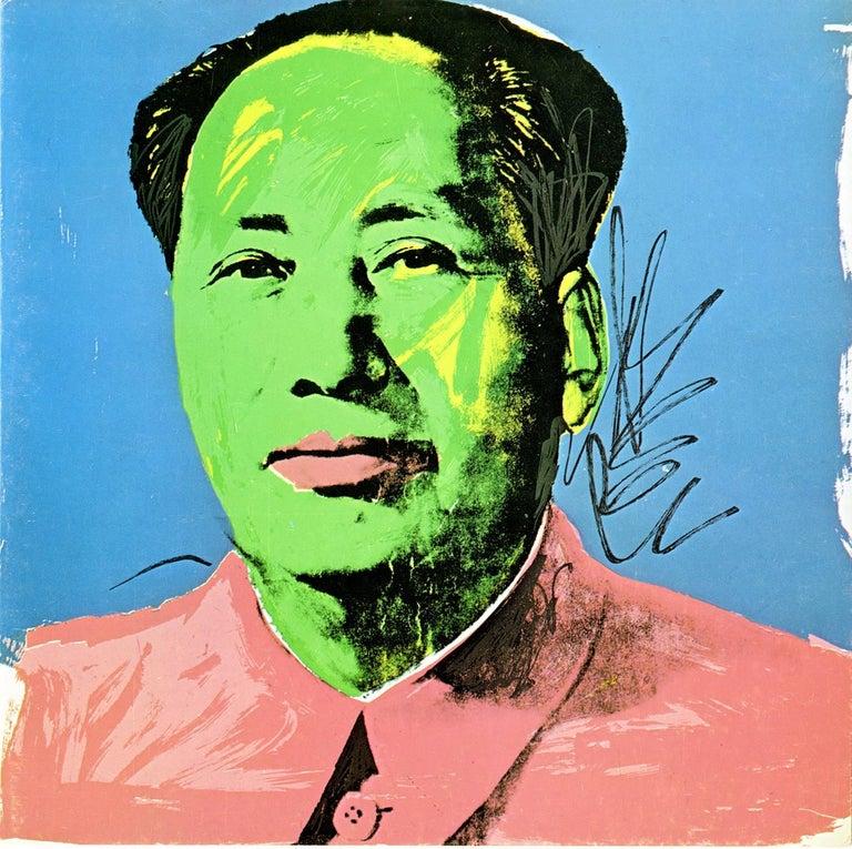 Warhol Mao Castelli announcement 1972 (Warhol at Leo Castelli)  - Art by (after) Andy Warhol