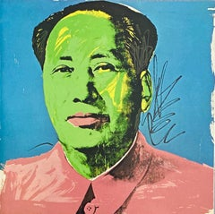 Andy Warhol Mao at Leo Castelli (announcement)