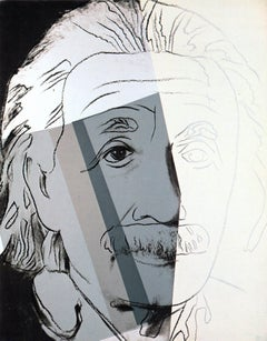 Warhol Portraits of Jews of the 20th Century  (set of 10 Warhol announcements)