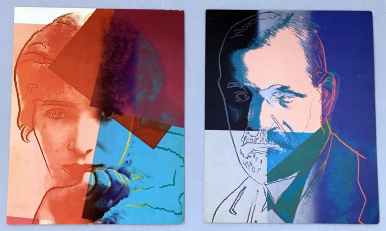 Warhol Portraits of Jews of the 20th Century  (set of 10 Warhol announcements)  For Sale 2