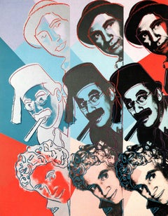 Warhol Portraits of Jews of the 20th Century  (set of ten 1980 announcements)